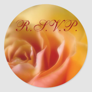 Yellow Rose • RSVP Sticker