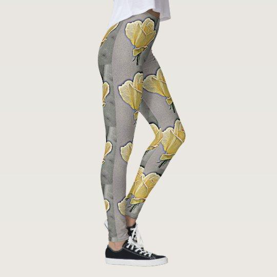 Yellow Rose Women's Leggings