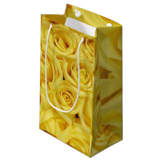 Yellow Roses,Any Occasions_ Small Gift Bag