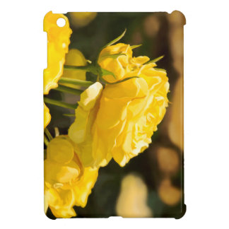Yellow Roses iPad Mini Cases