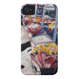 yellow roses moore street dublin iPhone 4 covers