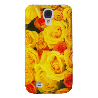 Yellow Roses Paris Galaxy S4 Cases