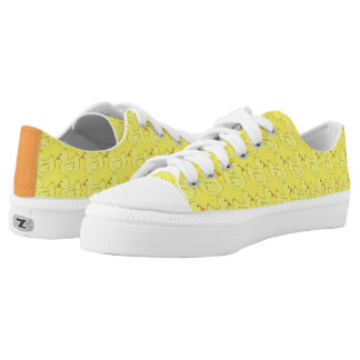 Yellow Rubber Duck Ducky Duckie Bird Sneakers