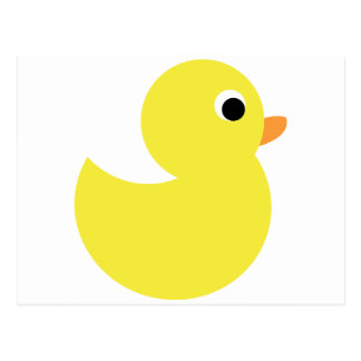 Yellow Rubber Duck Postcard