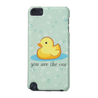 Yellow rubber duck with bubbles iPod Touch Speck iPod Touch (5th Generation) Cases
