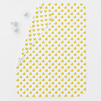 Yellow Rubber Ducky   Any Color Background Pramblankets
