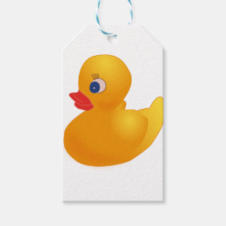 Yellow Rubber Ducky Gift Tags