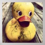 Yellow Rubber Ducky Needs a Bath! Print