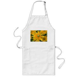 Yellow Rudbeckia Flowers Aprons