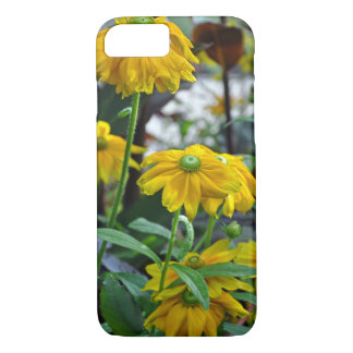 Yellow rudbeckia flowers iPhone 8/7 case