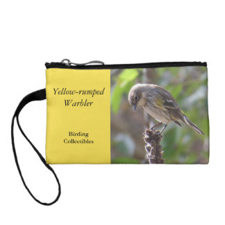 Yellow-rumped Warbler Coin Purse