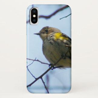 Yellow Rumped Warbler iPhone X Case