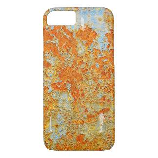 YELLOW RUSTY METAL iPhone 7 CASE