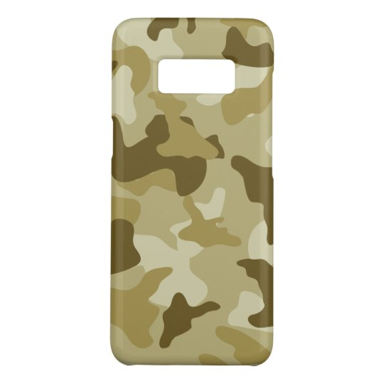 Yellow sand camo camouflage army pattern Case-Mate samsung galaxy s8 case
