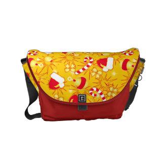 Yellow - Santa's cap Courier Bag