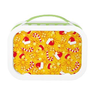 Yellow - Santa's cap Lunch Box