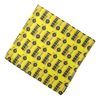 Yellow School Bus Buses Driver Teacher Bandana