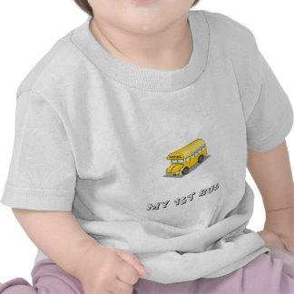 Yellow School Bus T Shirts