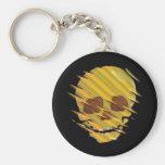 Yellow Skull Key Chains