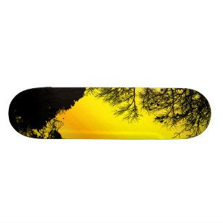 Yellow Sky 21.3 Cm Mini Skateboard Deck