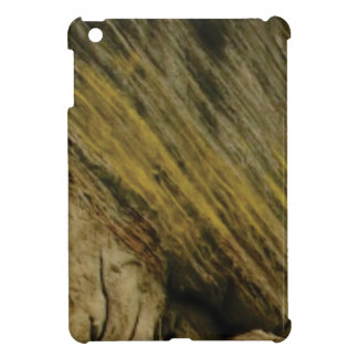 yellow slashes in the rock iPad mini cases