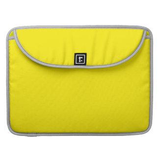 Yellow Sleeve For MacBook Pro