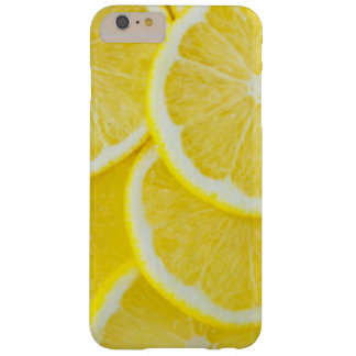 Yellow Slice Lemons Barely There iPhone 6 Plus Case