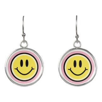 Yellow Smile Earrings