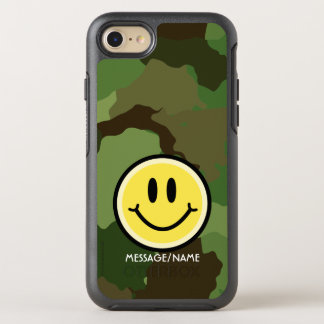Yellow Smile OtterBox Symmetry iPhone 8/7 Case
