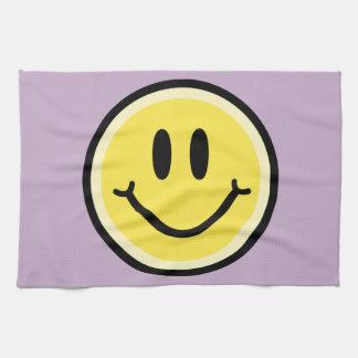 Yellow Smile Tea Towel