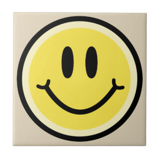 Yellow Smile Tile