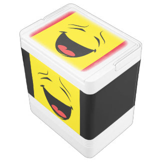 YELLOW SMILEY COOLER