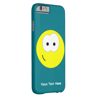 Yellow Smiley Face Emoticon Barely There iPhone 6 Case