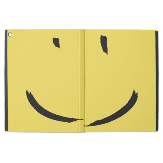 Yellow Smiley Face Ipad Pro Cover