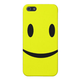 Yellow Smiley Face iPhone 4 Case