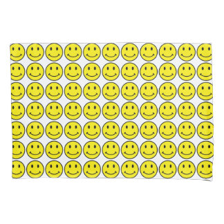 Yellow Smiley Face Standard Pillowcases