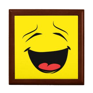 YELLOW SMILEY GIFT BOX
