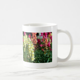 Yellow Snapdragon Mug with Gardening Quote #1