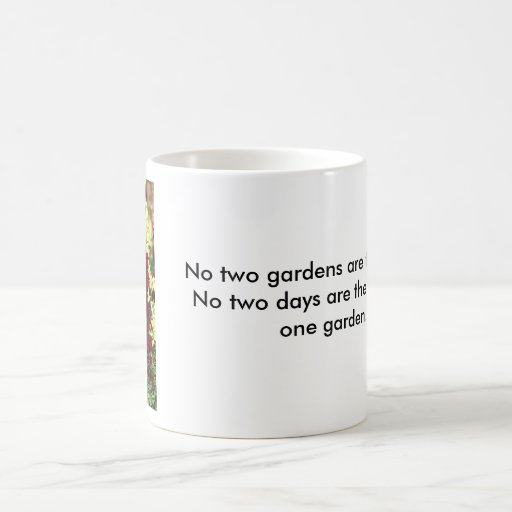 Yellow Snapdragon Mug with Gardening Quote #2