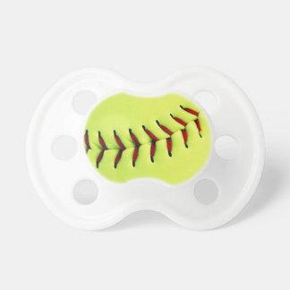 Yellow softball ball dummy
