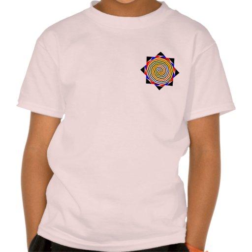 Yellow Spirals T-Shirt