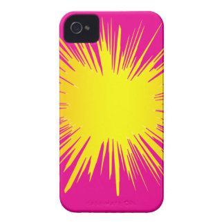 Yellow Splat Phone cover. Blackberry Cases