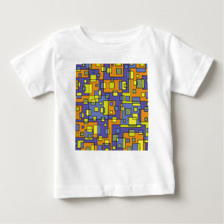 Yellow squares background baby T-Shirt