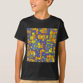 Yellow squares background T-Shirt
