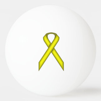 Yellow Standard Ribbon by Kenneth Yoncich