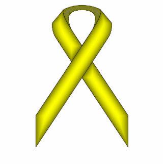 Yellow Standard Ribbon Photo Cut Outs