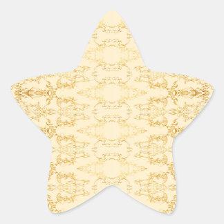 yellow star sticker