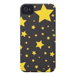 yellow stars BlackBerry Bold Cases