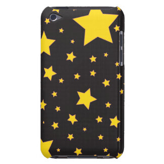 Yellow stars iPod Touch Case-Mate iPod Case-Mate Cases
