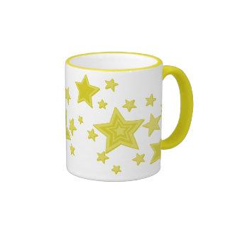 Yellow Stars Mug